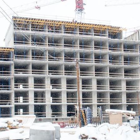 ЖК Полис на Комендантском, ход строительства, стройка 2018